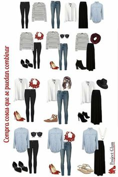 How to Create a Minimalist Capsule Wardrobe Capsule Wardrobe Mom, Mom Wardrobe, Capsule Outfits, Fashion Capsule, Fashion Outfits, Womens Fashion, Minimal Wardrobe, Casual Chic, What To Wear