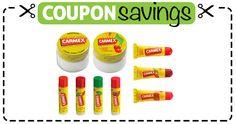 Save 30¢ off ANY Carmex Lip Balm
