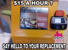 Automated McDonalds