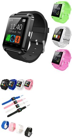 Smart Watches: Bluetooth Smart Wrist Watch Phone Mate For Android Ios Samsung Iphone Lg BUY IT NOW ONLY: $13.99