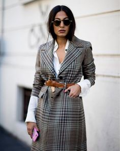 Milan Fashion Week: and if we were inspired by a street style to stitch fashion ideas to adopt now - style - Fashion Milan, Milano Fashion Week, Fashion Mode, Look Fashion, Trendy Fashion, Fashion Design, Fashion Trends, 2018 Street Fashion, Fashion Ideas