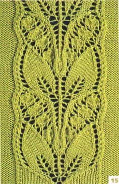 Motifs au tricot - Le monde-creatif ♤♤♤