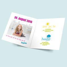 Sweety - Geburtstagseinladung für Kindergeburtstage bestellen