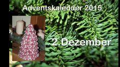 Weihnachtsbäumchen aus Bändern/RuthvonG