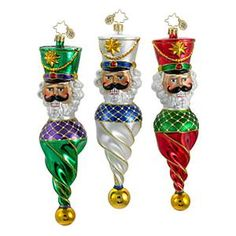 Give your holiday décor the Radko touch with these high-quality, handcrafted Christopher Radko ornaments. Since Christopher Radko has bee Radko Christmas Ornaments, Nutcracker Ornaments, Nutcracker Christmas, Christmas Baubles, Old World Christmas, Noel Christmas, Xmas, Vintage Ornaments, Glass Ornaments