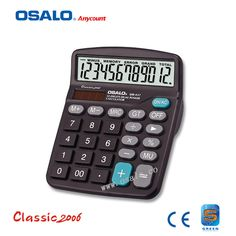 Jumbo Desktop Calculator Big Buttons Solar Battery Memory Office School UK POST