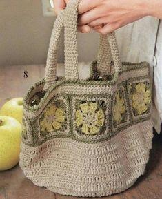 Meninas crocheteiras, postei essa bolsa linda no meu blog, passem lá para conferir os gráficos ➡➡➡ https://tecendoartesesonhos.blogspot.com.br . . #postnoblog #bag #bolsasdecroche #crochet