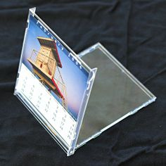 a way to up cycle the old jewel cases from your old cds make