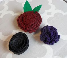 DIY - No Sew Felt Flowers