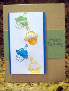 Tony's cupcake day by moster - Cards and Paper Crafts at Splitcoaststampers