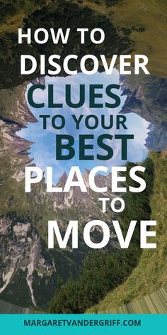 Find out how to find clues to your best places to move and get a behind the scenes look at how my signature Find Your Happy Place system works! Best Places To Move, Live For Yourself, Finding Yourself, Moving Tips, Do You Feel, Lessons Learned, Change The World, Happy Life, Are You Happy
