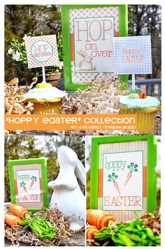 Hoppy EASTER collection - perfect to celebrate Easter! @eyecandycreate #easter #easterparty #easterbunny