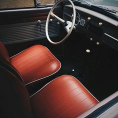 curated by Niclas von Schedvin Vw Engine, Custom Car Interior, Vw Classic, Car Upholstery, Automotive Upholstery, Vw Vintage, Classy Cars, Car Restoration, Vw Cars
