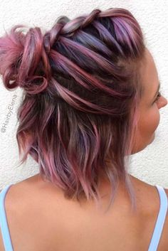 You need to see these simple braids for short hair we have collected. They are the perfect upgrade of your short hair and the look you get is dazzling. ** Click image for more details.