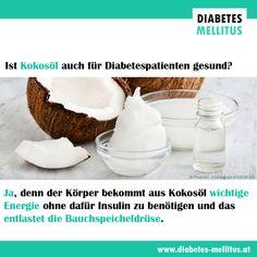 Kokosöl wirkt bei Diabetes! Diabetes Mellitus, Pudding, Desserts, Food, Tooth Caries, Food Recipes, Meal, Custard Pudding, Deserts
