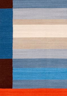 Flatweave Rug - Dan - Designed By Ptolemy Mann Available now from www.ptolemymannshop.com