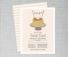 Hey, I found this really awesome Etsy listing at https://www.etsy.com/listing/159106350/bridal-shower-invitation-pancake-shower