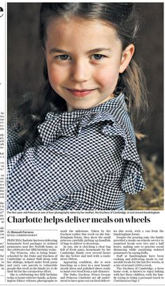 To mark Princess Charlotte's birthday, Prince William and Kate Middleton released 4 pictures of Princess Charlotte in which she is seen helping delivering homemade food packages Kate Middleton Family, Princess Kate Middleton, Kate Middleton Prince William, Kate Middleton Style, Kate Middleton Children, Kate Middleton Pictures, Prince William Hair, Prince William Family, Prince William And Catherine