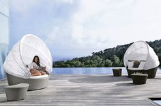 Dream Furniture - Dedon.  They had these at a house we stayed at on Hamilton Island and they were AMAZING