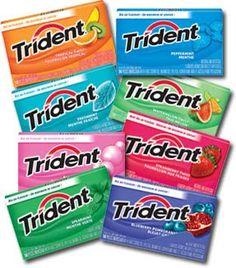 All Trident Gum