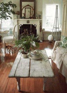 Shabby Chic Living Room Idea