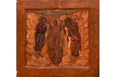 Bid Live on Lot 400 in the Art, Antiques, Collectibles Auction from Auktionshaus J. Religious Art, Christian, Icons, Traditional, Antiques, Painting, John The Baptist, Russia, Auction