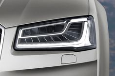 Did you know there's a better headlight with great safety features...in Europe?! Thanks to our current (but rather out-of-date) #NHTSA lighting regulations, you won't see Audi's cool matrix LED technology which is fully automatic and can:  - Illuminate the lane ahead with high beams without blinding oncoming traffic. - Illuminate pedestrians and aim it's beams around corners.