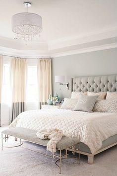 élégant style chambre à coucher