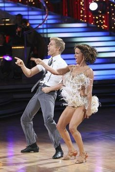 Still of Jennifer Grey and Derek Hough in Dancing with the Stars