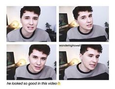 It's Dan he looks good   24/7  and the video it self was just amazing