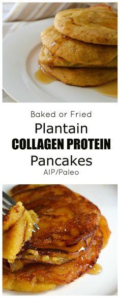Plantain Collagen Protein Pancakes (AIP/Paleo/Refined Sugar-Free)   Lichen Paleo, Loving AIP