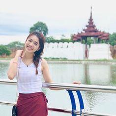 Traditional Dresses Designs, Myanmar Dress Design, Mandalay, Designer Dresses, Costumes, Female, Celebrities, Lady, Shorts