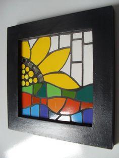 Mosaic Art, Mosaic Glass, Mosaics, Mosaic Projects, Projects To Try, Mosaic Designs, Bat Signal, Superhero Logos, Cube