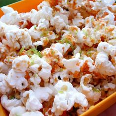 """Sriracha-Lime Popcorn   """"The lime zest is noticeable, and so good, I'd even add a bit more!"""""""