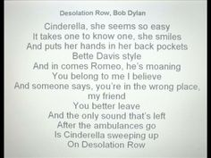 Desolation Row by Paul Tattam. Words and Music  by Bob Dylan from Highway 61 Revisited  (1965)