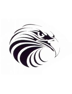 Tribal Eagle Tattoo | Tribal Eagle Head