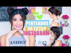 Como Fazer Penteados do Instagram! - YouTube
