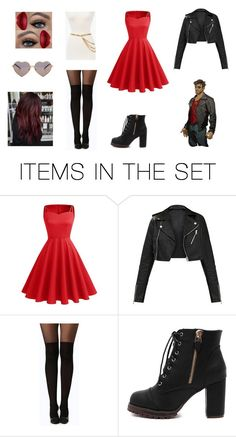 """""""❤️Dream Daddy Robert's Daughter❤️"""" by cjfulmer on Polyvore featuring art"""
