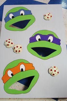 Teenage Mutant Ninja Turtle Party Ideas, TMNT Party Ideas, Teenage Mutant Ninja…
