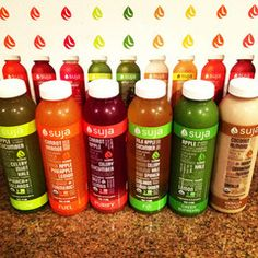 Suja 3-Day Juice Cleanse.   I am doing this right now.  I am only on bottle 4. I literally hate every one. Never again. but i am sticking it out.