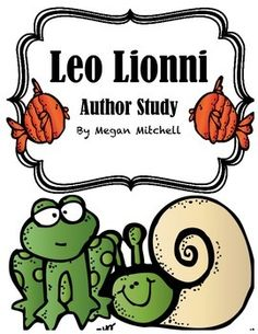 This Author Study cover 11 great Leo Lionni books. His books are filled with life lessons for children to learn from! Enjoy literature connections and writing!