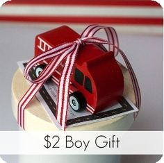 $2 Gift Idea for Boys {+Printable Tag} via My Sister's Suitcase: