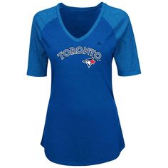 42b8e27c4 Nike Buffalo Bills Womens Retro Fan V-Neck T-Shirt - Royal Blue buffalo  bills stuff