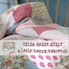 Tilda Brick Quilt #TILDA