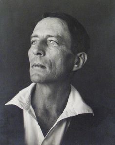 Edward Weston, Portrait of Robinson Jeffers, Second View, 1933, Vintage Photograph D2DW