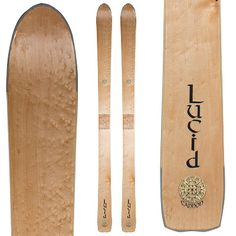 Designed and made in Maine, the Lucid Cannon Ski is designed for big all-mountain action and is right home in conditions typical to the North East.