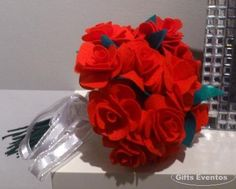 Ramo fieltro Gifts Eventos.  https://www.facebook.com/GiftsEventos?ref=tn_tnmn
