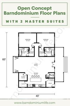 Guest House Plans, House Layout Plans, New House Plans, Small House Plans, House Layouts, House Floor Plans, Metal Barn Homes, Metal Building Homes, Pole Barn Homes