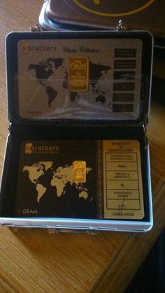 Mis tarjetas de un gramo y cinco gramos de oro Karatbars. Make Money From Home, How To Make Money, Gold Money, Make New Friends, Things To Know, Wealth, Investing, Diamonds, Santa