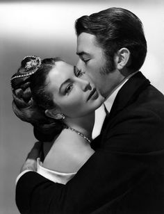 Ava Gardner and Gregory Peck, The Great Sinner (1949).